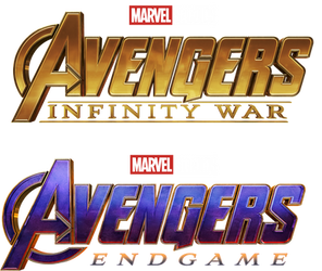 Avengers Infinity War/Endgame - Title Transparent by Asthonx1