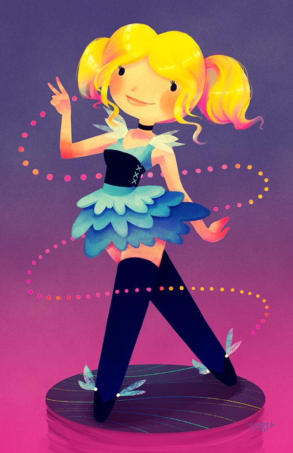 Powerpuff Girls - Bubbles by Torianne00