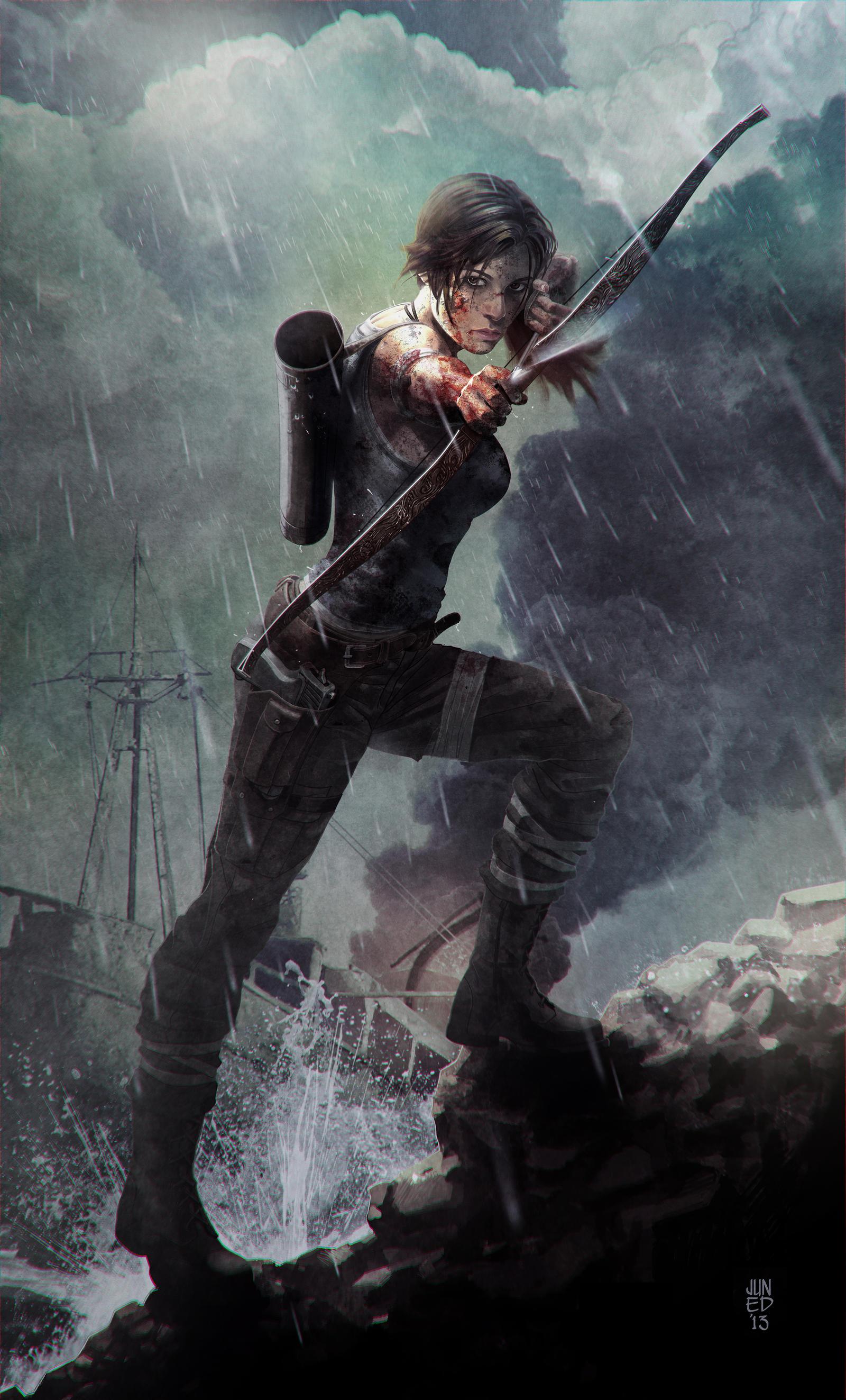 The Last Arrow II by JUNAIDI