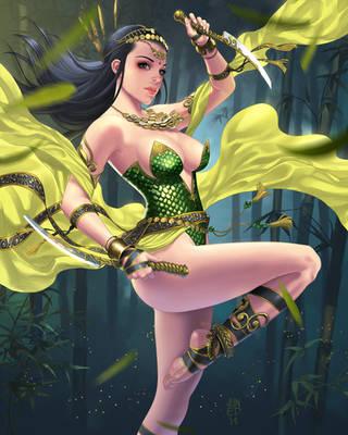 Bambu Warrior by JUNAIDI