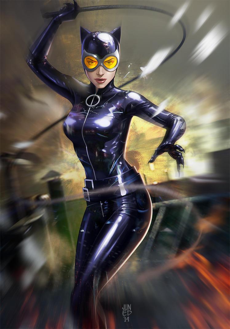 Catwoman by JUNAIDI