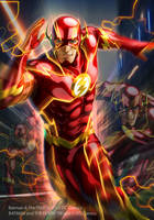 The Flash by JUNAIDI