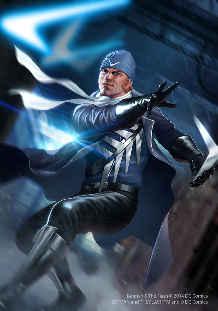 Captain Boomerang by JUNAIDI on DeviantArt