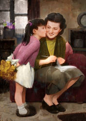 I Love You Mama by JUNAIDI