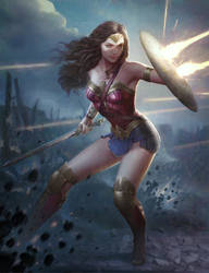 Wonder Woman by JUNAIDI