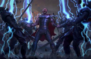 God of Thunder by JUNAIDI