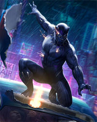 Black Panther by JUNAIDI