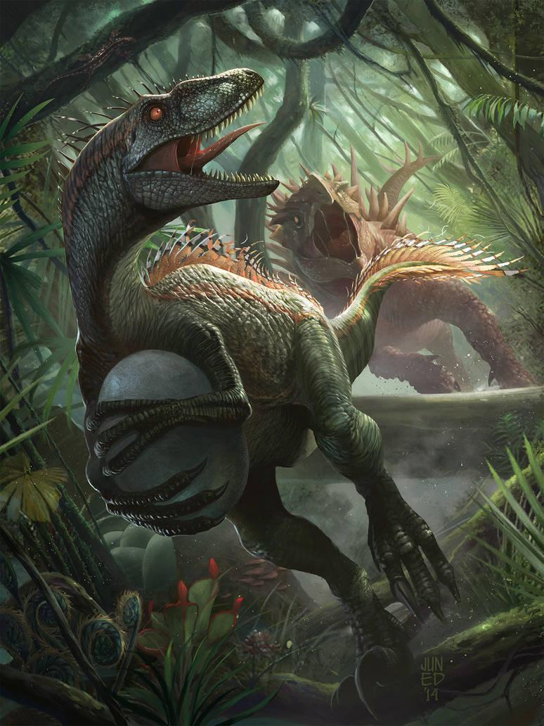 Thief Raptor by JUNAIDI