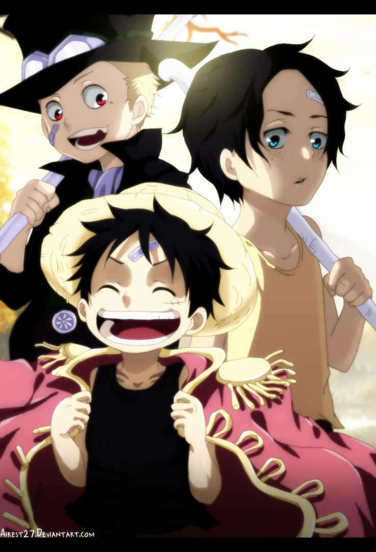 Little Kings - One Piece |Color| by Airest27