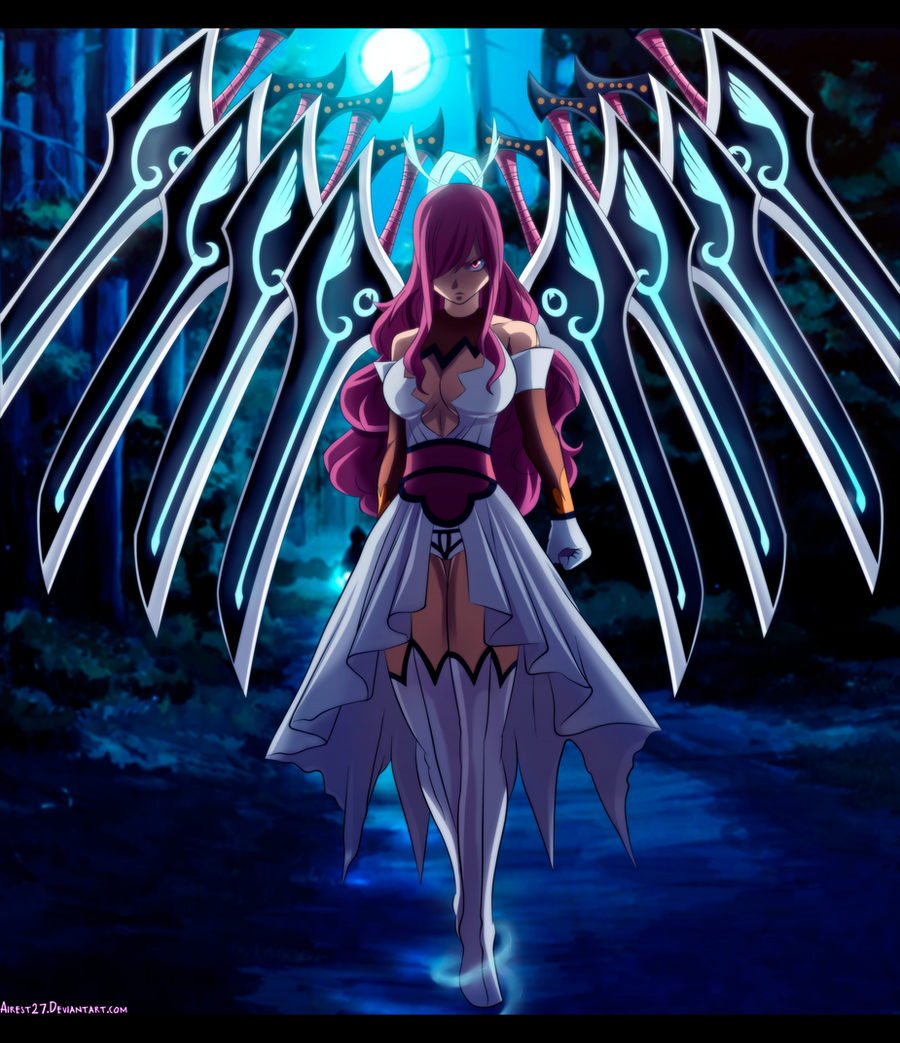 Erza Scarlet Wallpaper: By Airest27 On DeviantArt