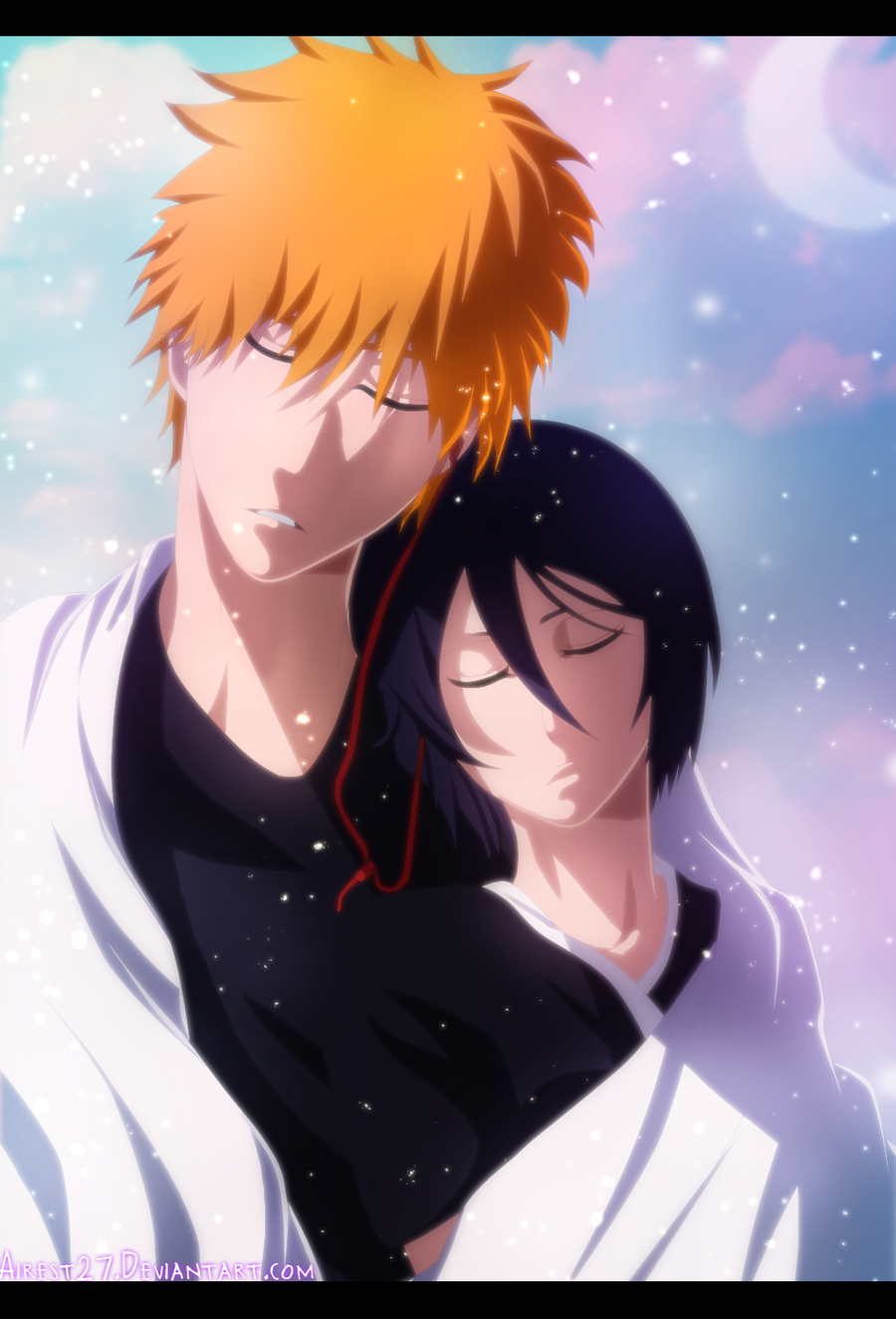 Ichigo Kurosaki and Rukia Kuchiki - Bleach |Color| by ...