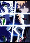 Ichigo and Ulquiorra - Bleach |Color|