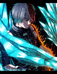 Todoroki Shouto - My Hero Academia |Color| by Airest27
