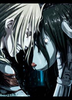 Himera and Edward Elric-Fullmetal Alchemist|Color|