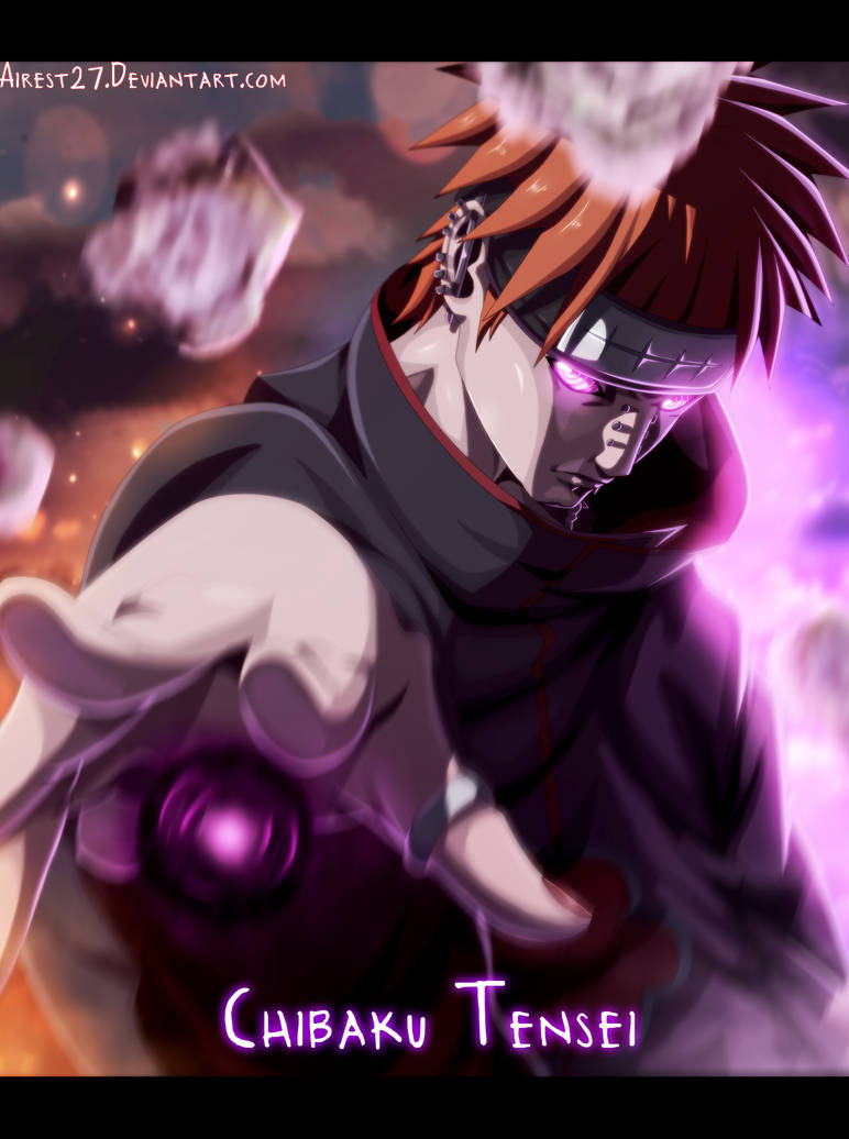 pain   naruto  color  by airest27 ddb6h74