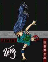 Renji - Whatcha Lookin' At? by Odd-One-Out