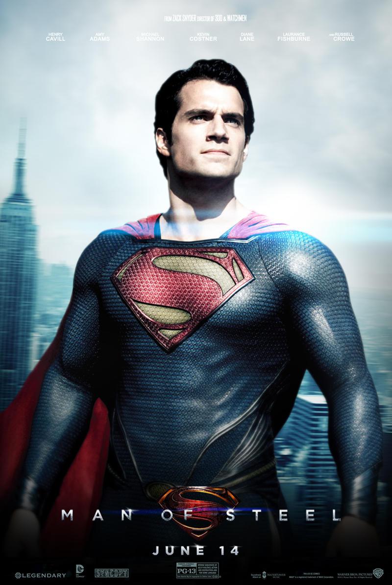 Man Of Steel Movie Poster by Sumitsjc on DeviantArt