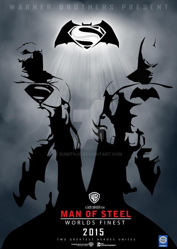 Man Of Steel:Worlds Finest 2015 movie poster
