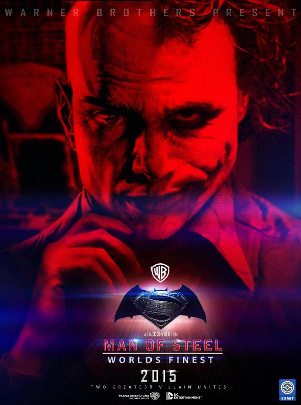 man of steel worlds finest luthor and joker by sumitsjc on