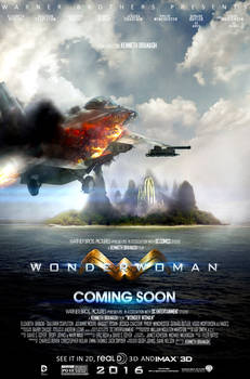 Wonder Woman 2016 Movie Poster