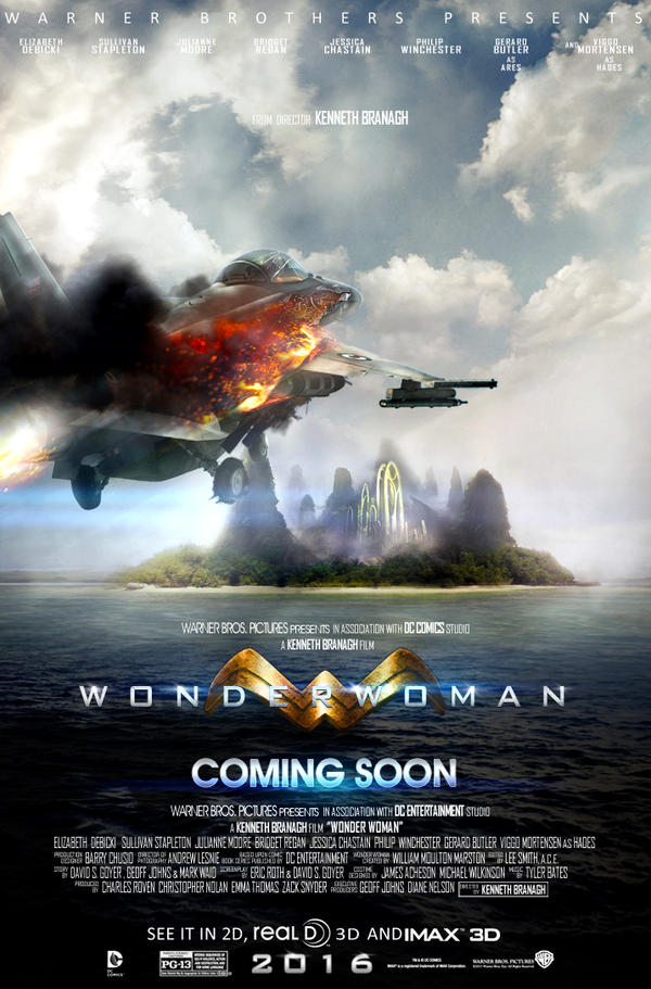 Wonder Woman 2016 Movie Poster by Sumitsjc on DeviantArt Pacific Rim 2013 Dvd Cover