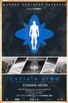 Blue Varient Captain Atom 2016 movie poster