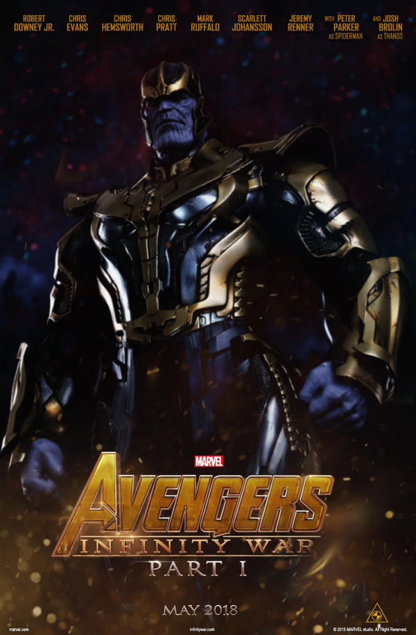 The Avengers Infinity War Poster 2018 by Sumitsjc on ...
