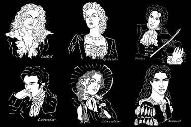 Vampires 1 by ereszkigal