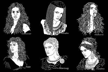 Vampires 2 by ereszkigal