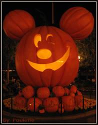 Mickey Jack O Lantern by shutterbugmom