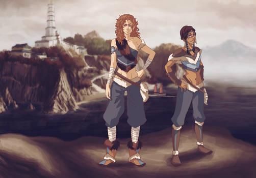 Azara and Kihana
