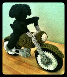 Motorcycle Rover by tape-artist