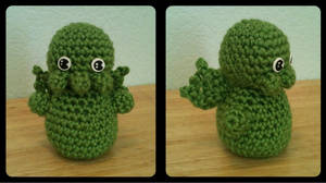 CREEPY cute Cthulhu by tape-artist