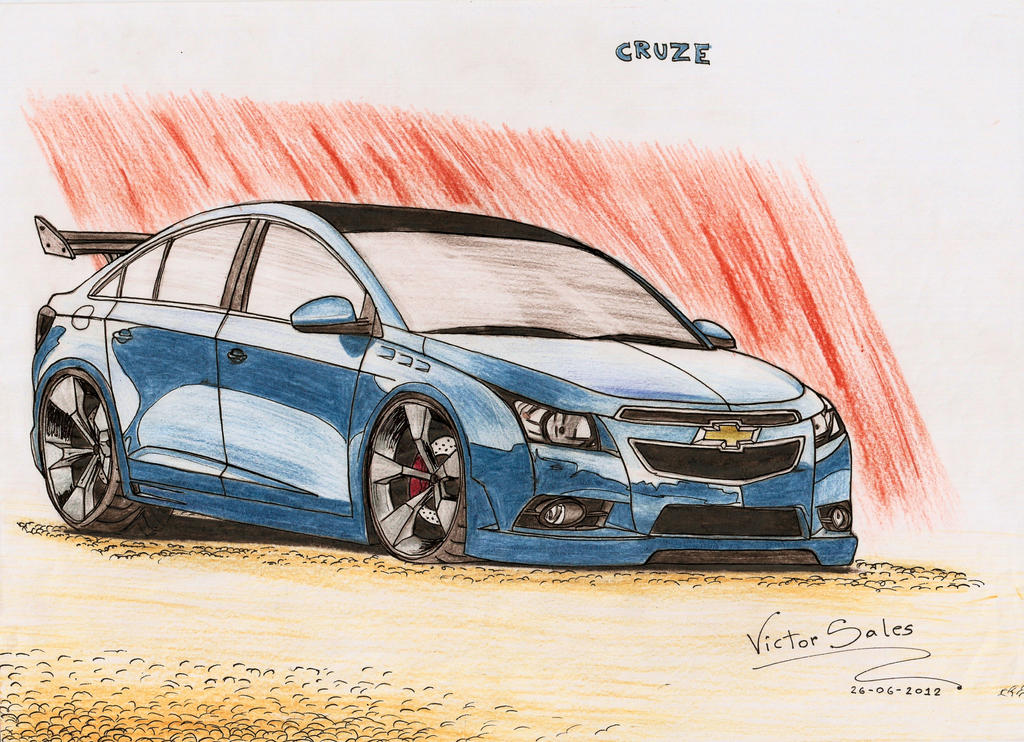 chevrolet cruze tuning by vsales on deviantart. Black Bedroom Furniture Sets. Home Design Ideas