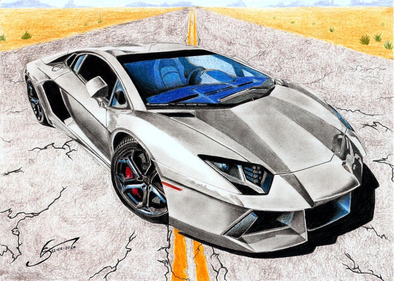 Lamborghini Aventador LP700 by VSales on DeviantArt