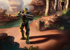 Master Chief by VSales