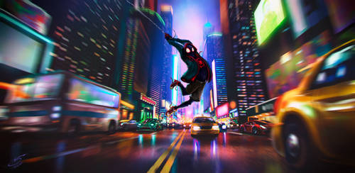 SpiderMan: Into the Spider-verse by VSales