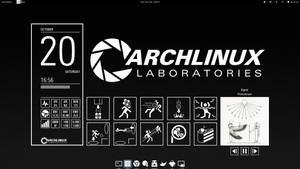 Monochrome Desktop - PortalB