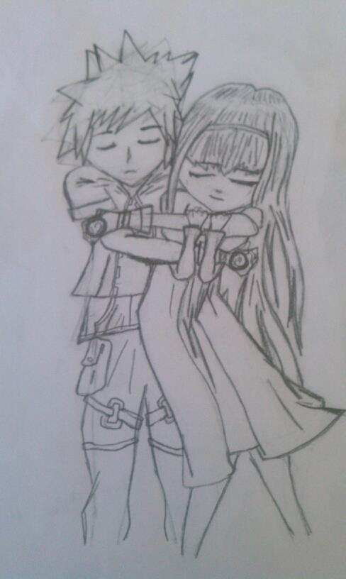 boy and girl hugging by bentarrow on DeviantArt