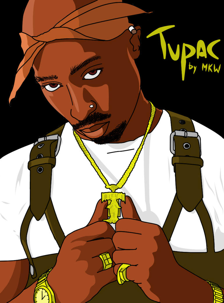 Tupac by mkw-no-ossan