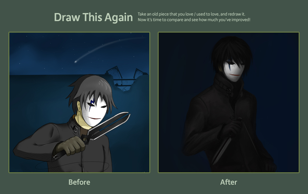 Draw this again. by mkw-no-ossan