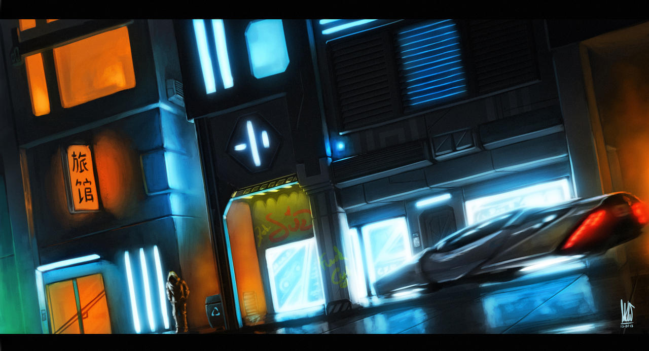 Cyberpunk. by mkw-no-ossan