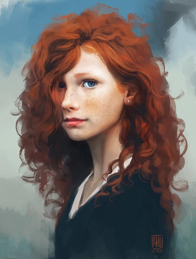 Portrait practice 02.