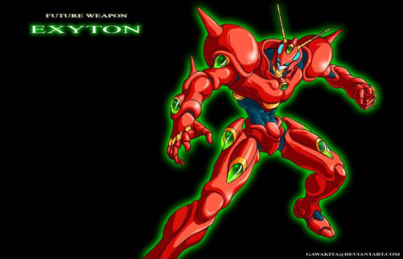 Future Weapon EXYTON 1998 by gawakita