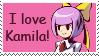 Kamila stamp by tie-dye-flag