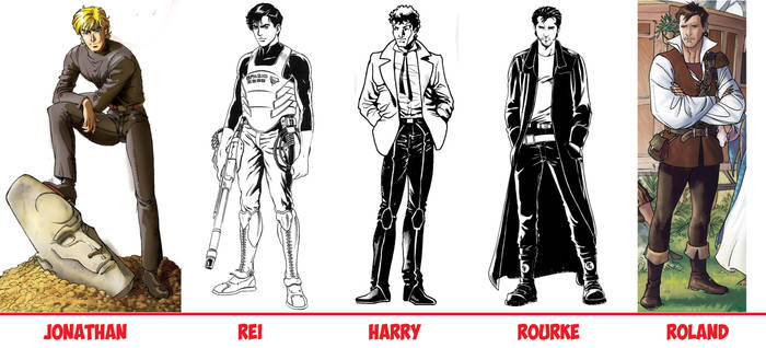 MY MALE CHARACTERS