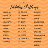 Inktober Challenge 2017 by MiaMagdalena