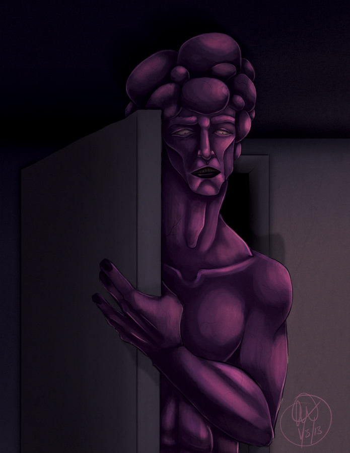 In The Closet by Caiwin