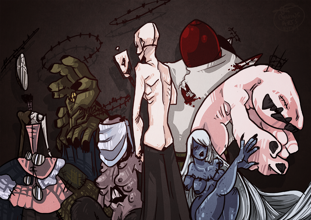 7 Deadly Sins by Caiwin