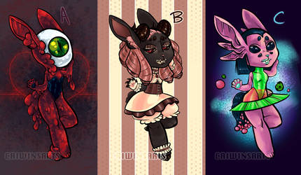 Chibi Examples by Caiwin
